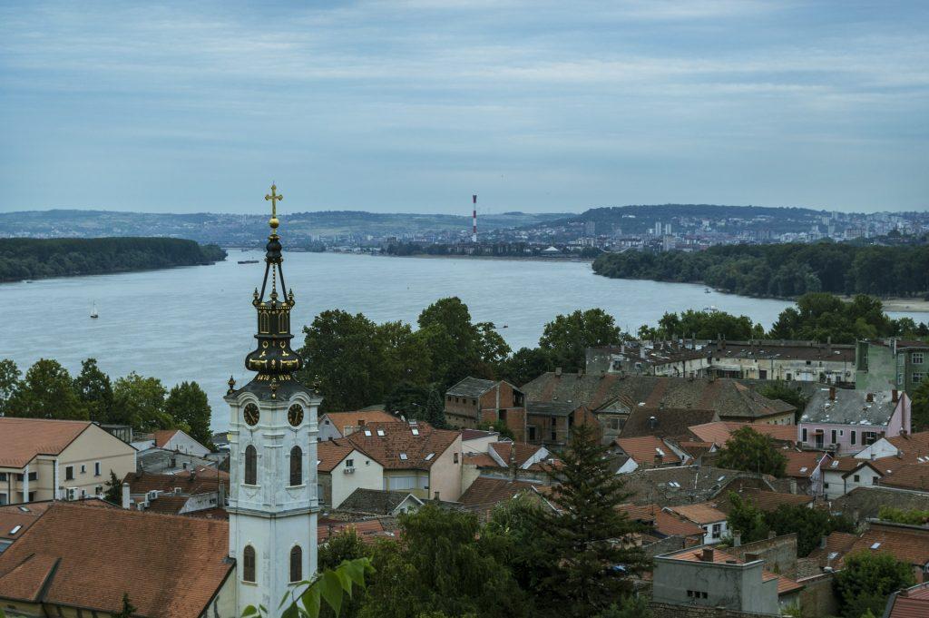Pogled na reku, Beograd